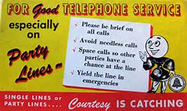 party-line