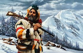 mountain man blanket